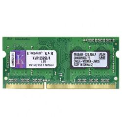Memória p/Notebook Kingston 4GB/DDR3/1333MHZ
