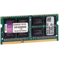 Memória p/Notebook Kingston 8GB/DDR3/1333MHZ